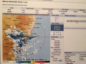 BOM Rain Radar